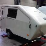Apart model caravan